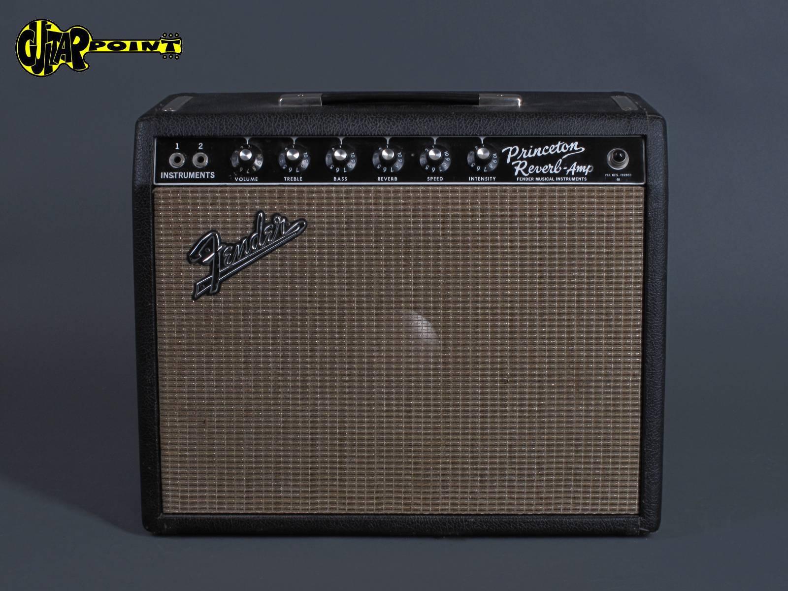 "1967 Fender Princeton Reverb - ""Blackface"""