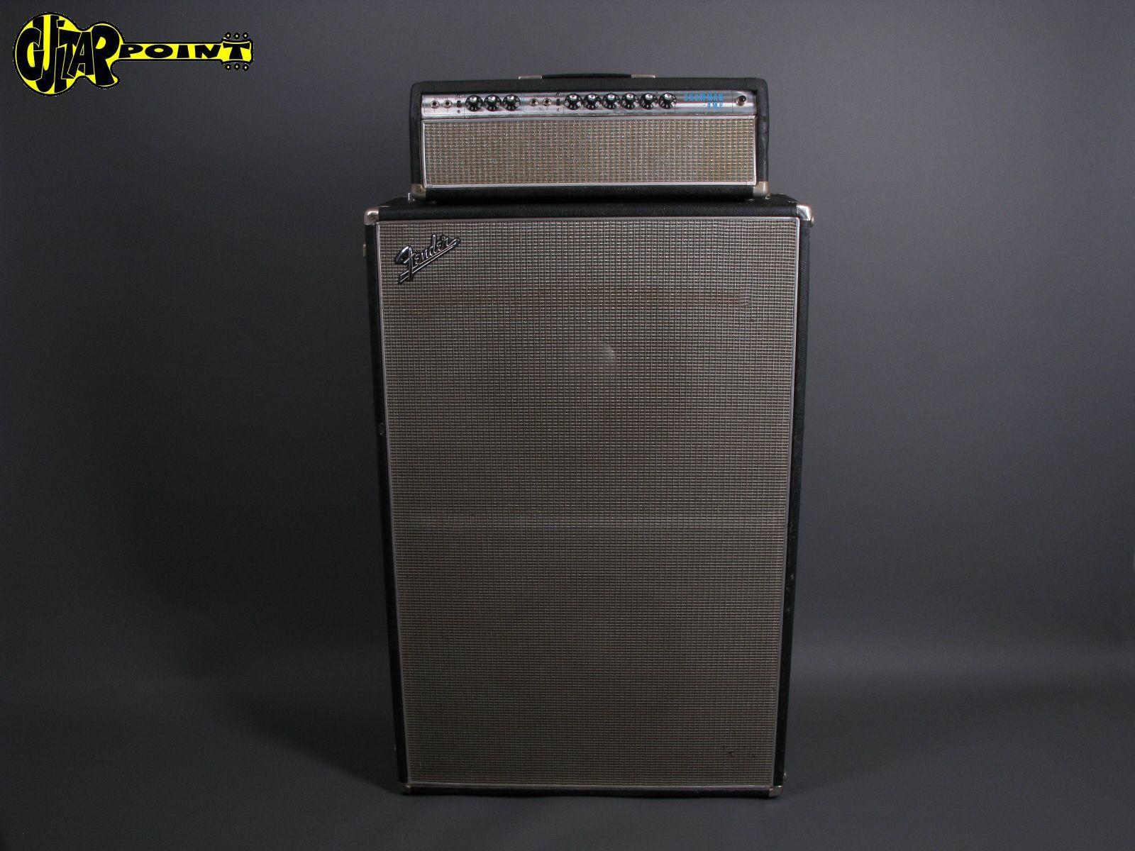 "1967 Fender Showman + 2x15"" JBL Speaker Cabinet"