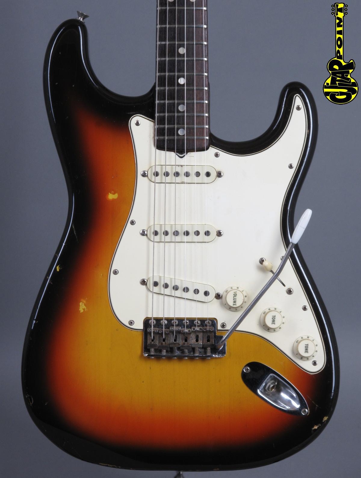 1967 Fender Stratocaster - 3t-Sunburst   ...rare !!!