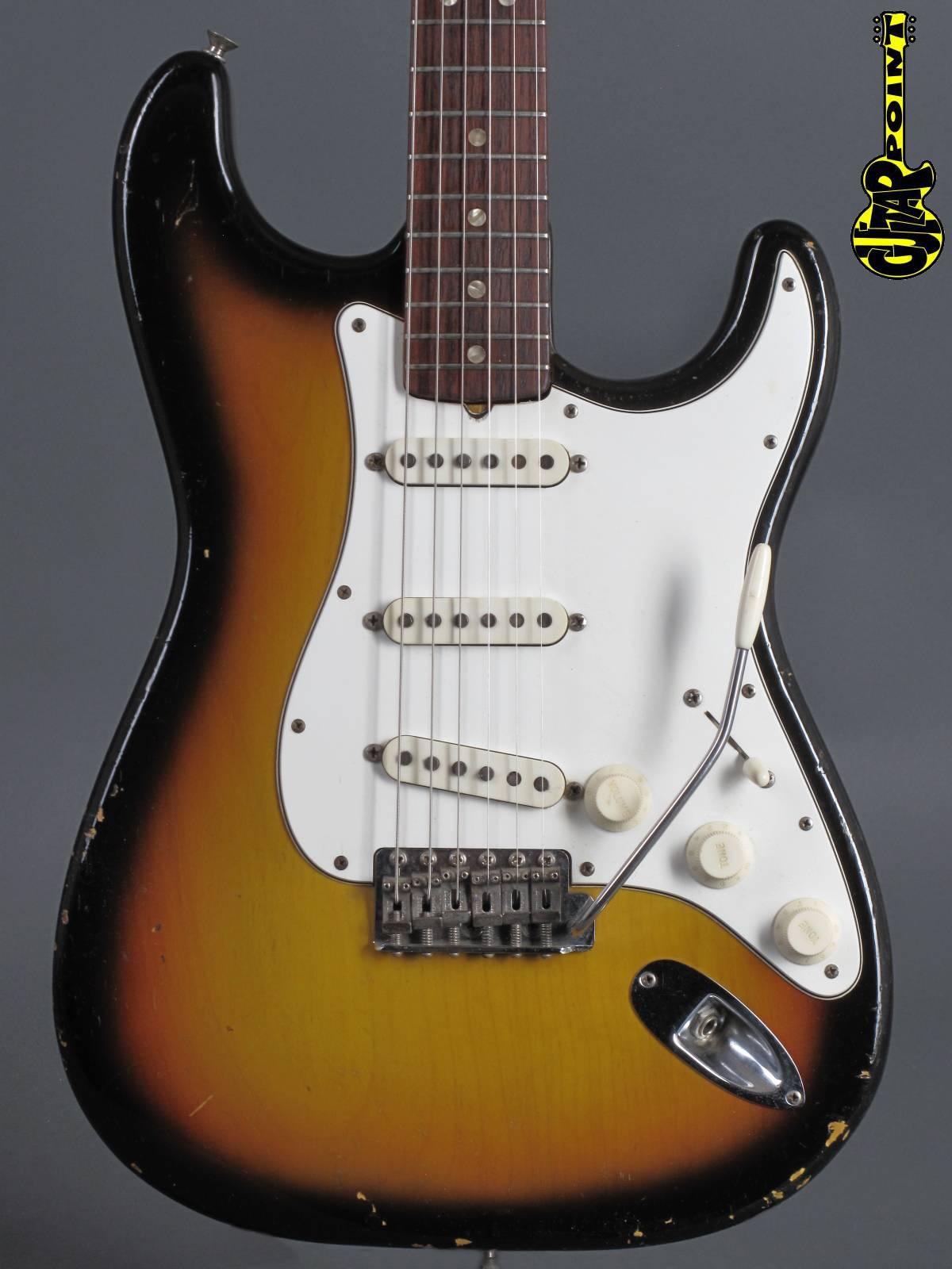 1967 Fender Stratocaster - 3t-Sunburst