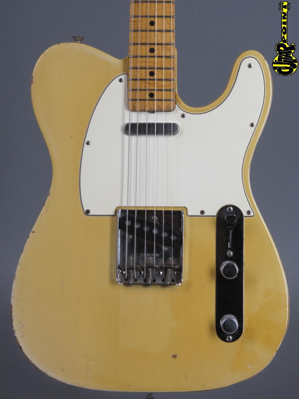 1967 Fender Telecaster - Blond   ...Maple Cap Neck !!!
