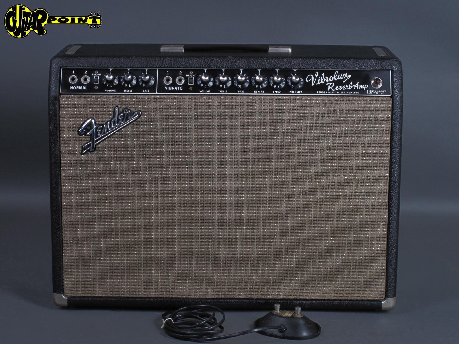 "1967 Fender Vibrolux Reverb Amp - ""Blackface"""