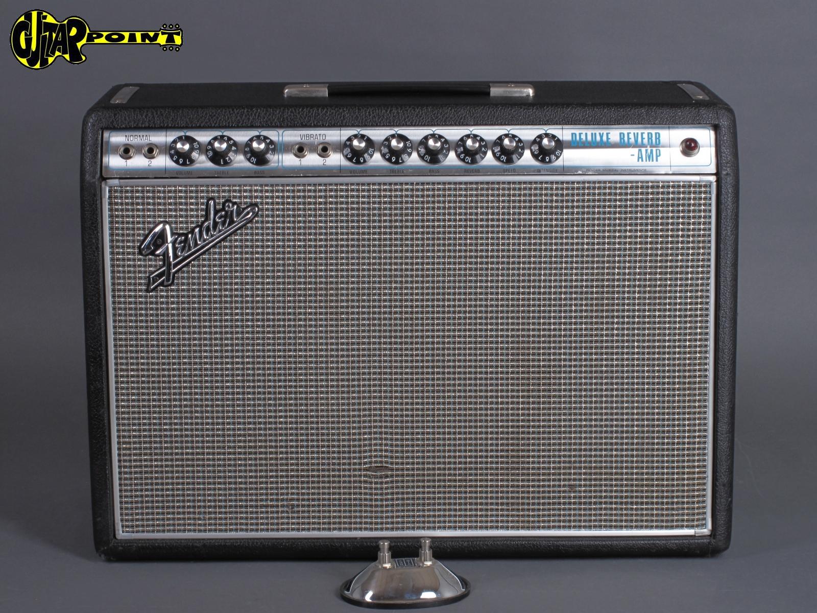 """1968 Fender Deluxe Reverb Amp - """"Alu-trim"""""""