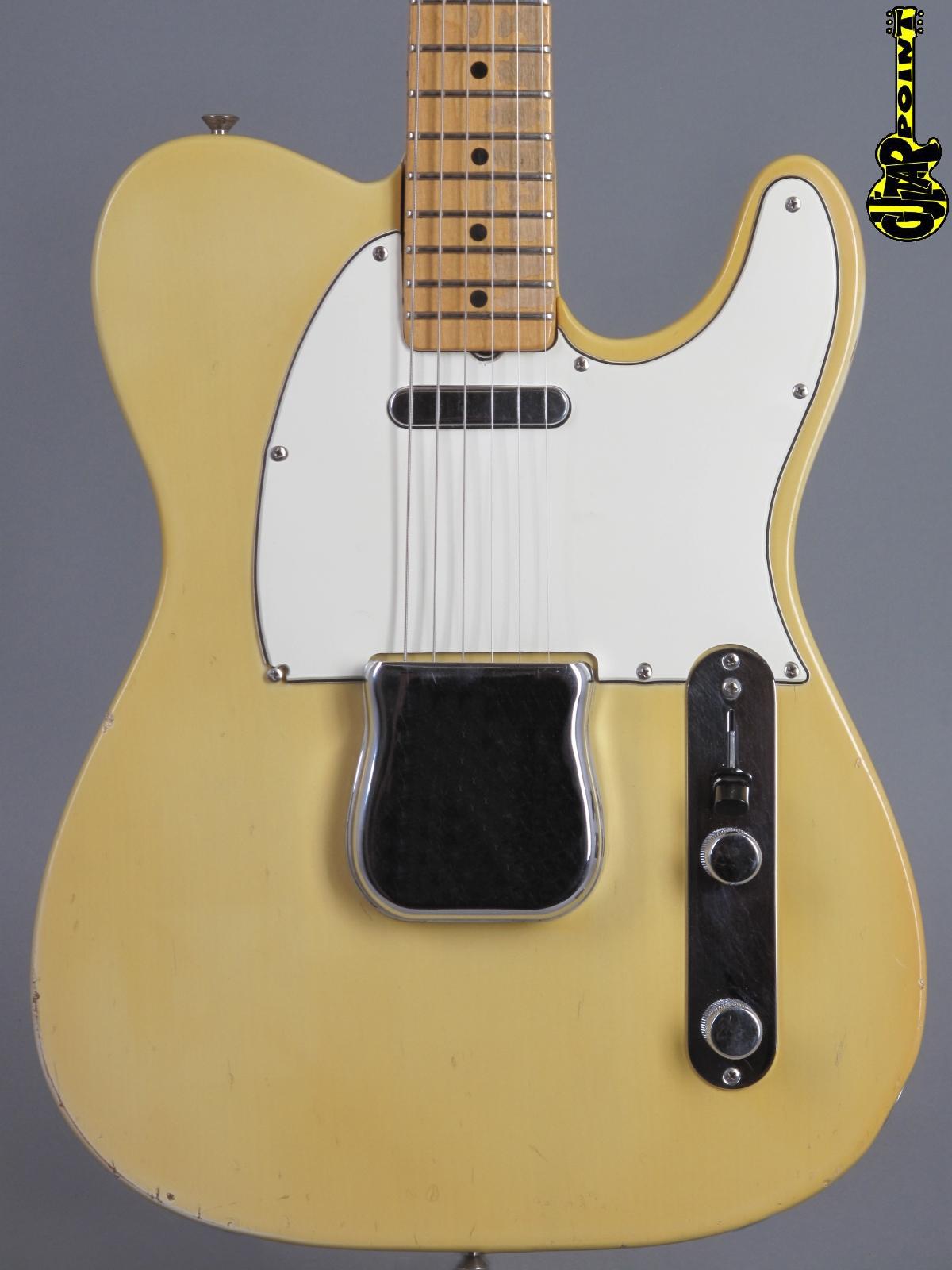 1968 Fender Telecaster - Blond    ...Maple-cap neck!