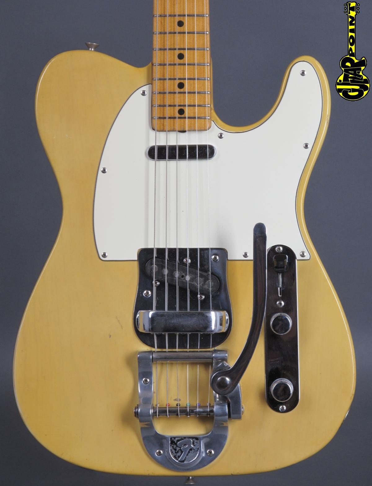 1968 Fender Telecaster - Blond   ...maple-cap & Bigsby !