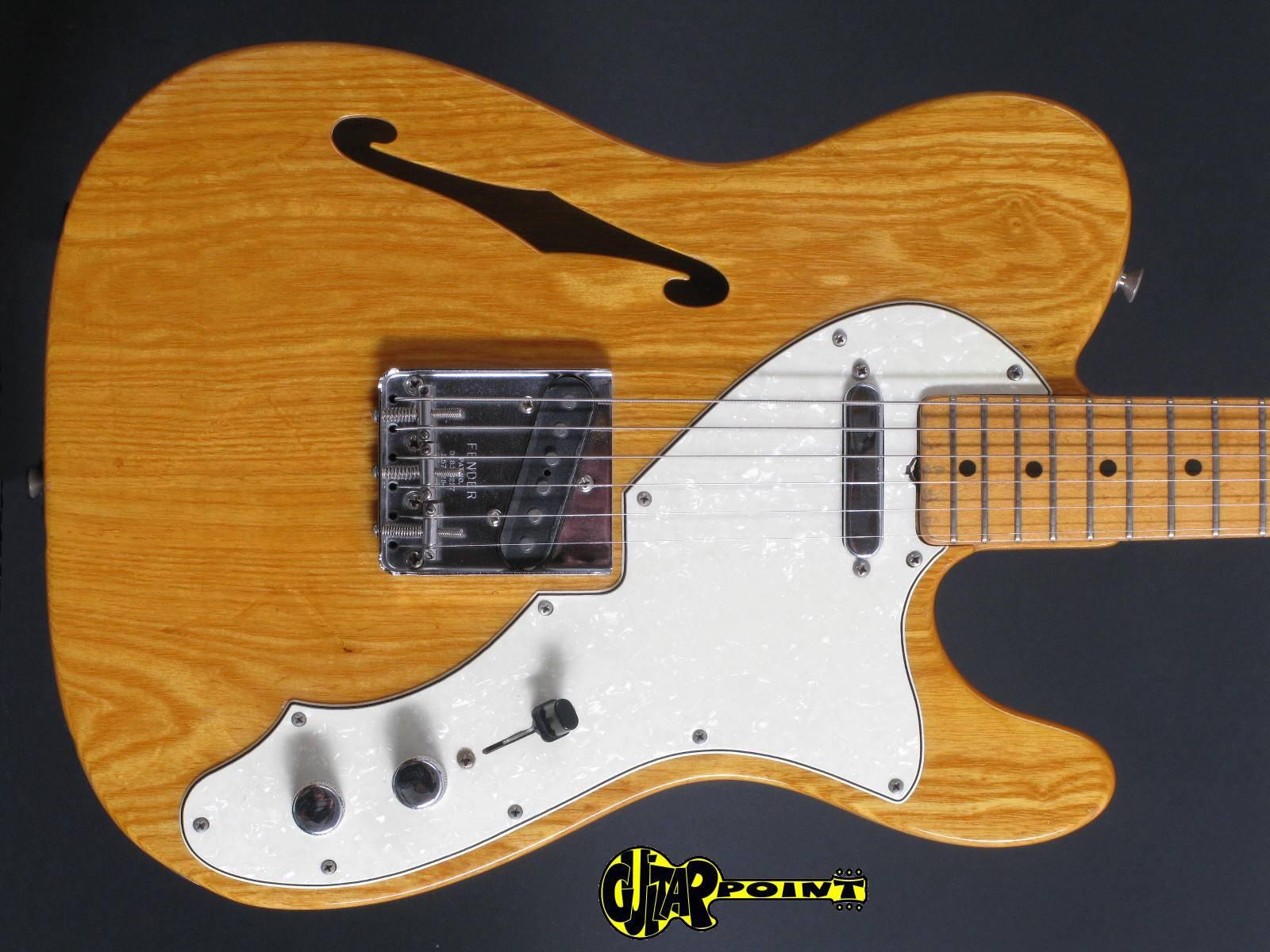 1968 Fender Thinline Telecaster - Natural