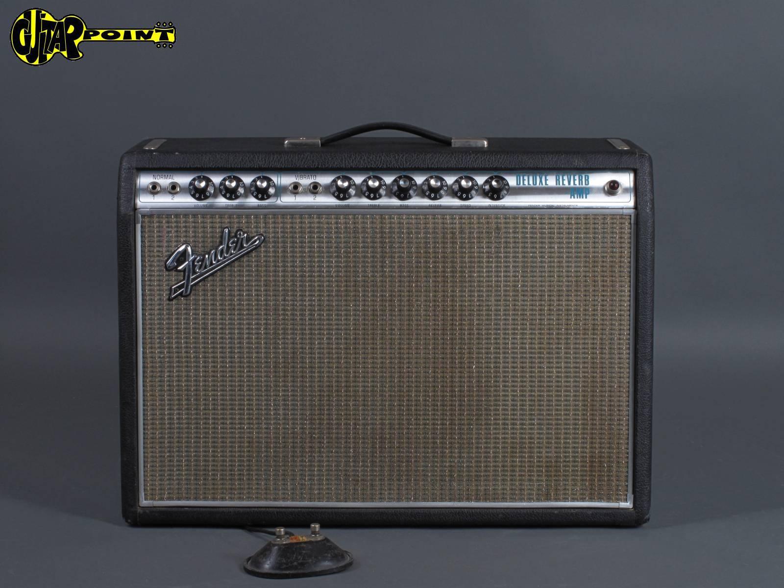 "1969 FenderDeluxe Reverb Amp - ""Alu-trim"""