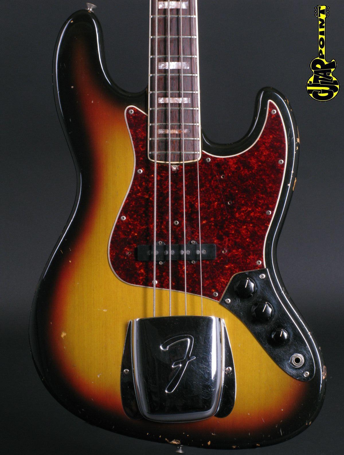 1969 Fender Jazz Bass - 3t-Sunburst