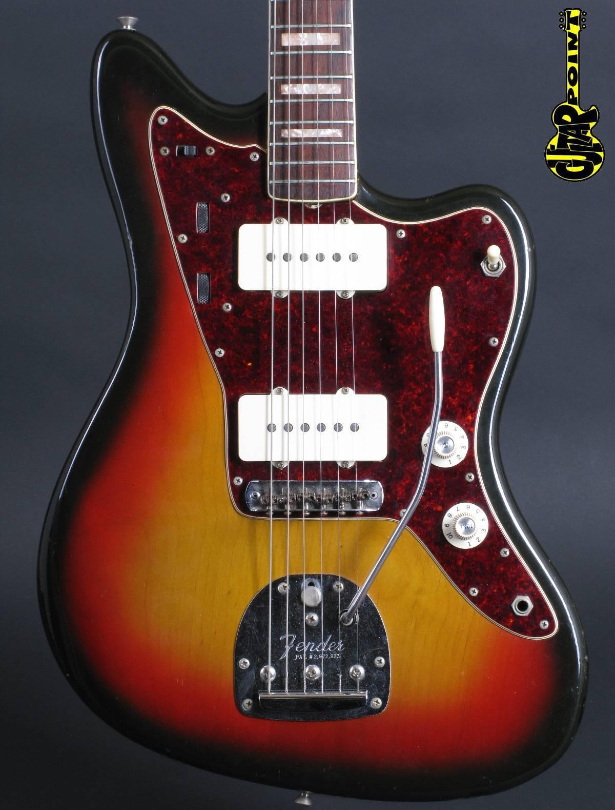 1969 Fender Jazzmaster - 3-tone Sunburst