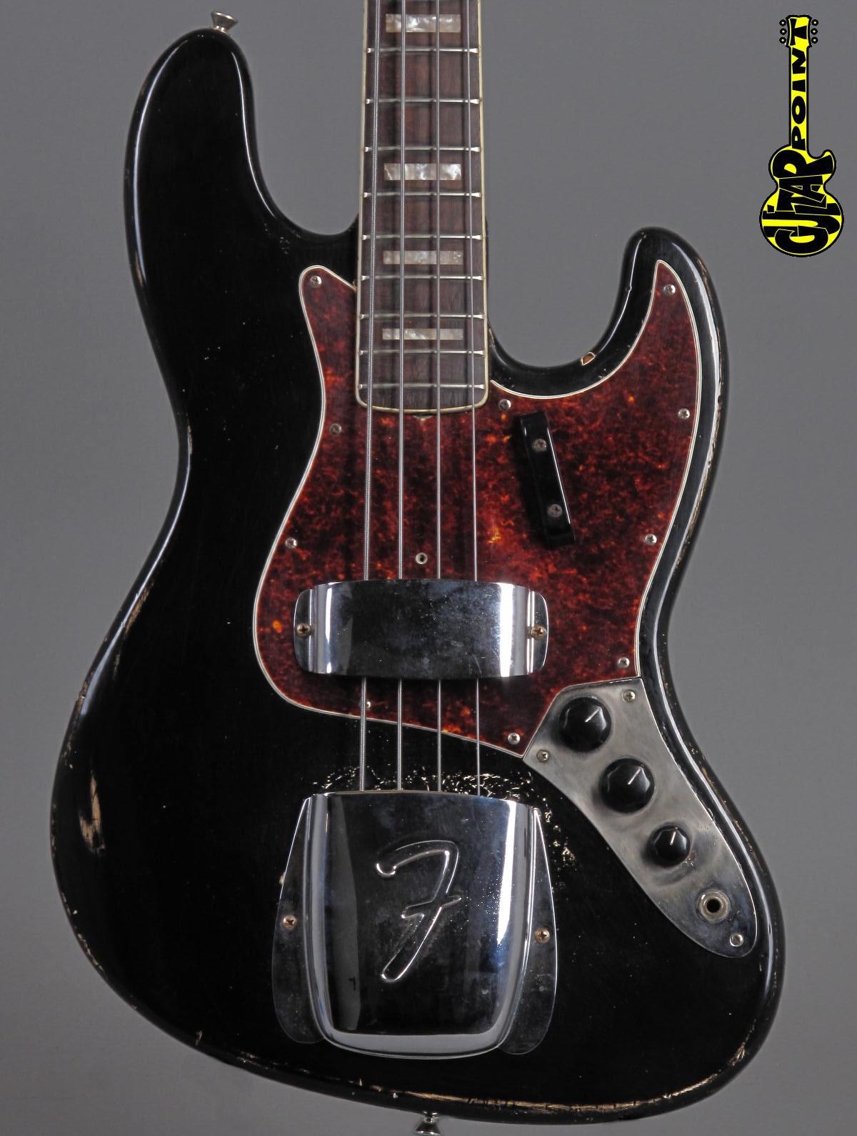 1969 Fender Jazz Bass - Black