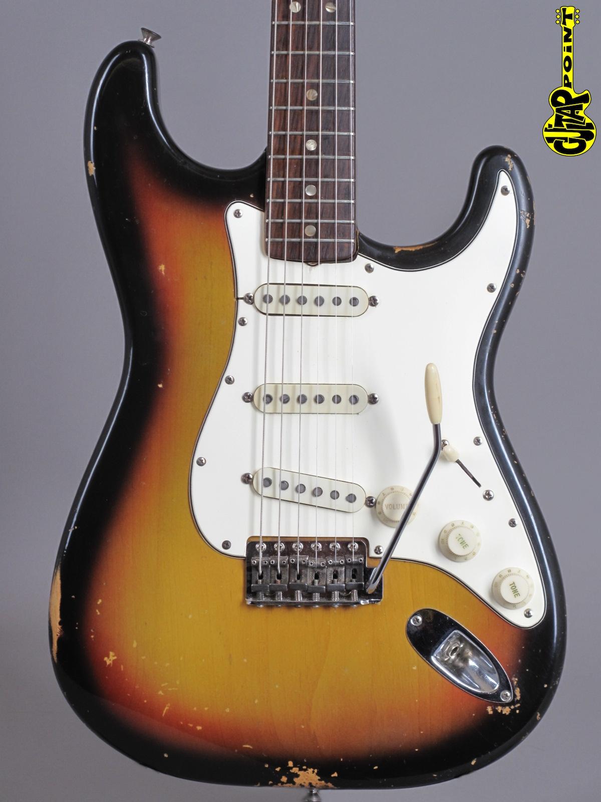 1969 Fender Stratocaster - 3-tone Sunburst