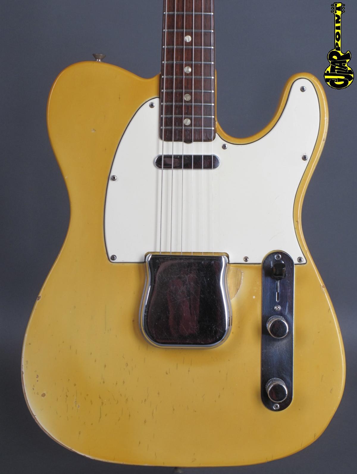 1969 Fender Telecaster - Blond  incl. orig. Tolex case