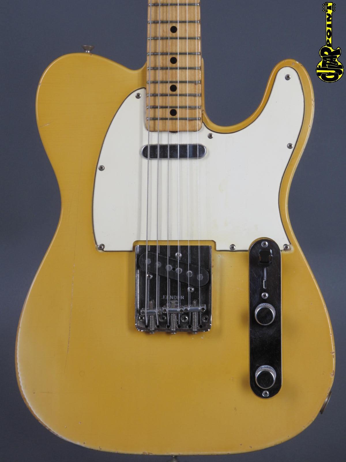 1969 Fender Telecaster - Blond
