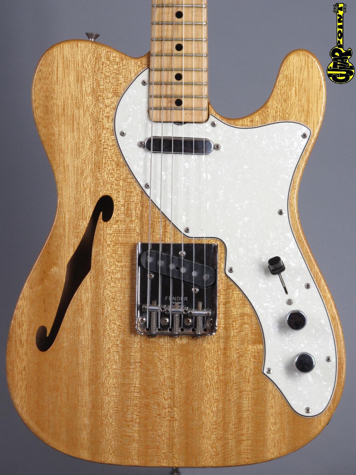 1969 Fender Thinline Telecaster - Mahogany ...2,75 Kg (!)