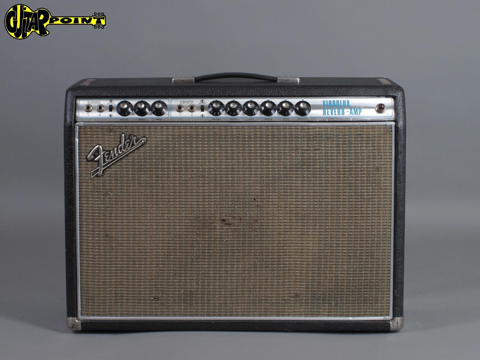 1969 Fender Vibrolux  Reverb Amp  ...Export - Version !