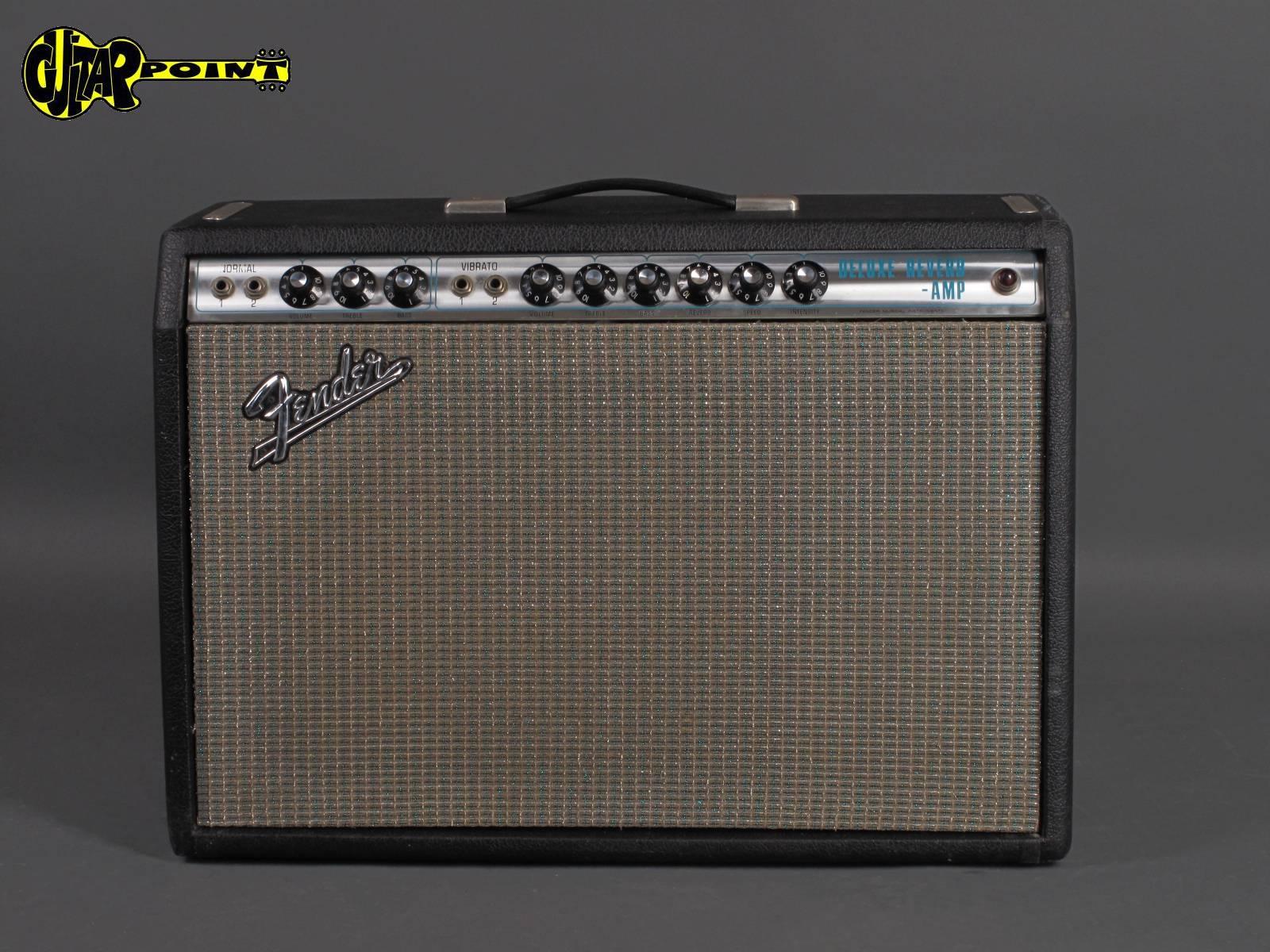 1971 FenderDeluxe Reverb Amp