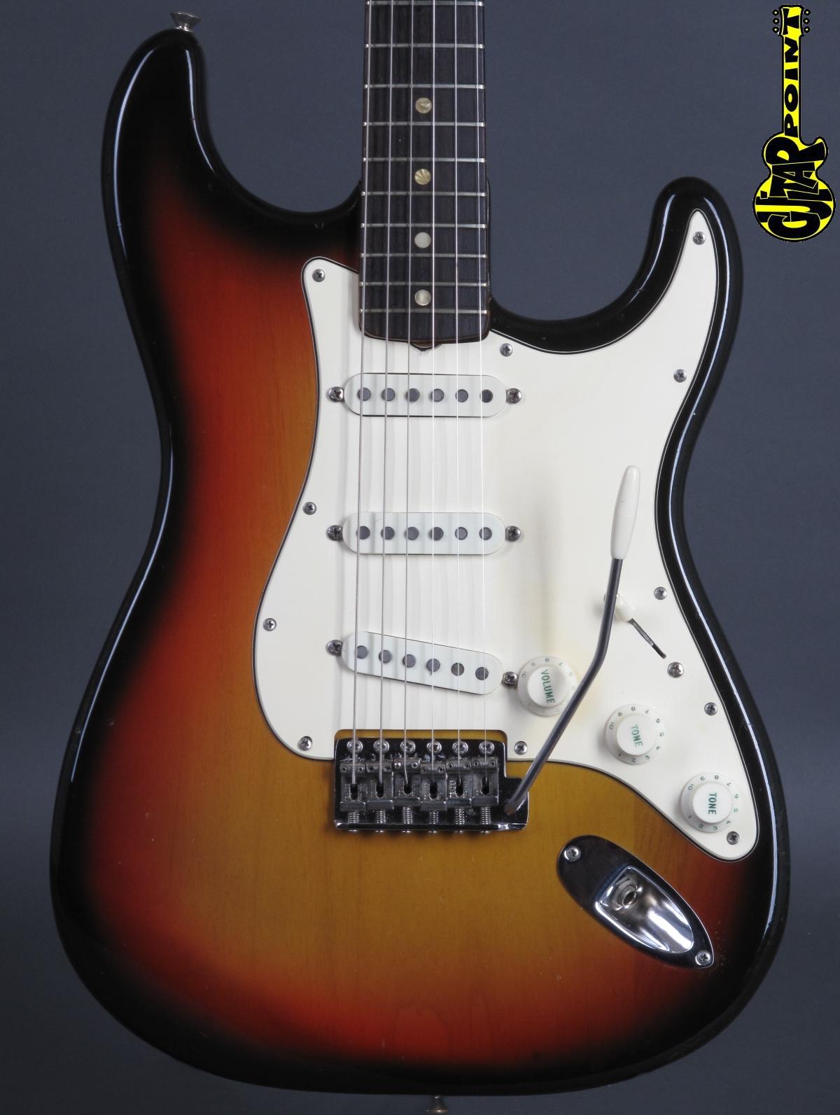 1970 Fender Stratocaster - 3-tone Sunburst  ...clean & lightweight !
