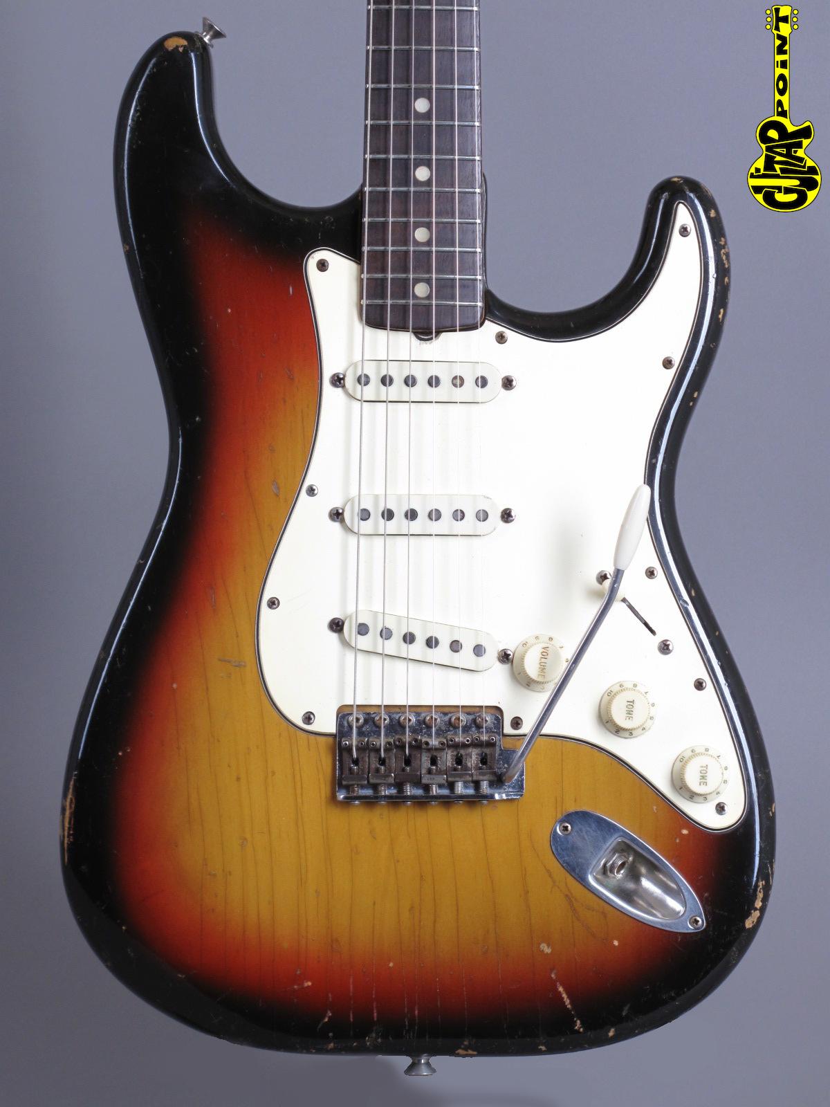 1970 Fender Stratocaster - Sunburst