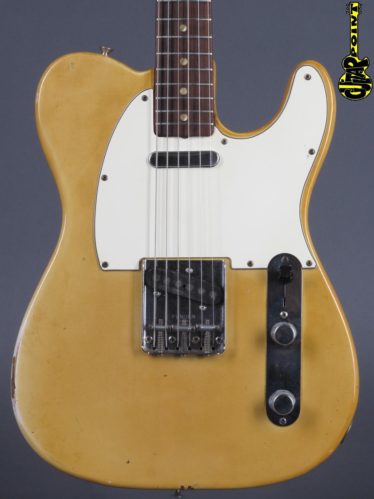 1970 Fender Telecaster -  Blond    incl. orig black tolex case