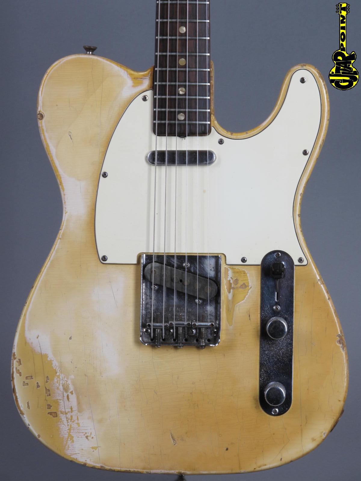 1970 Fender Telecaster -  Blond   ...lightweight = 3,19Kg!