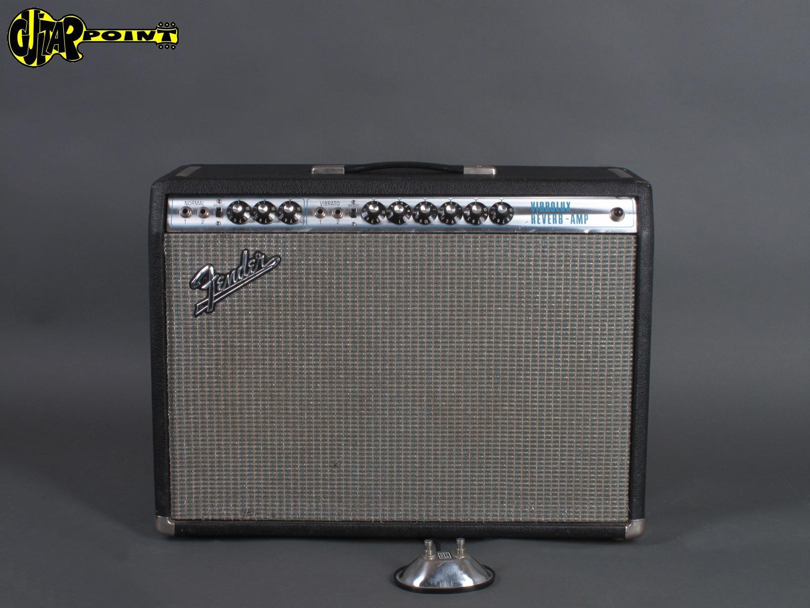 1970 Fender Vibrolux Reverb Amp  ...Mint !