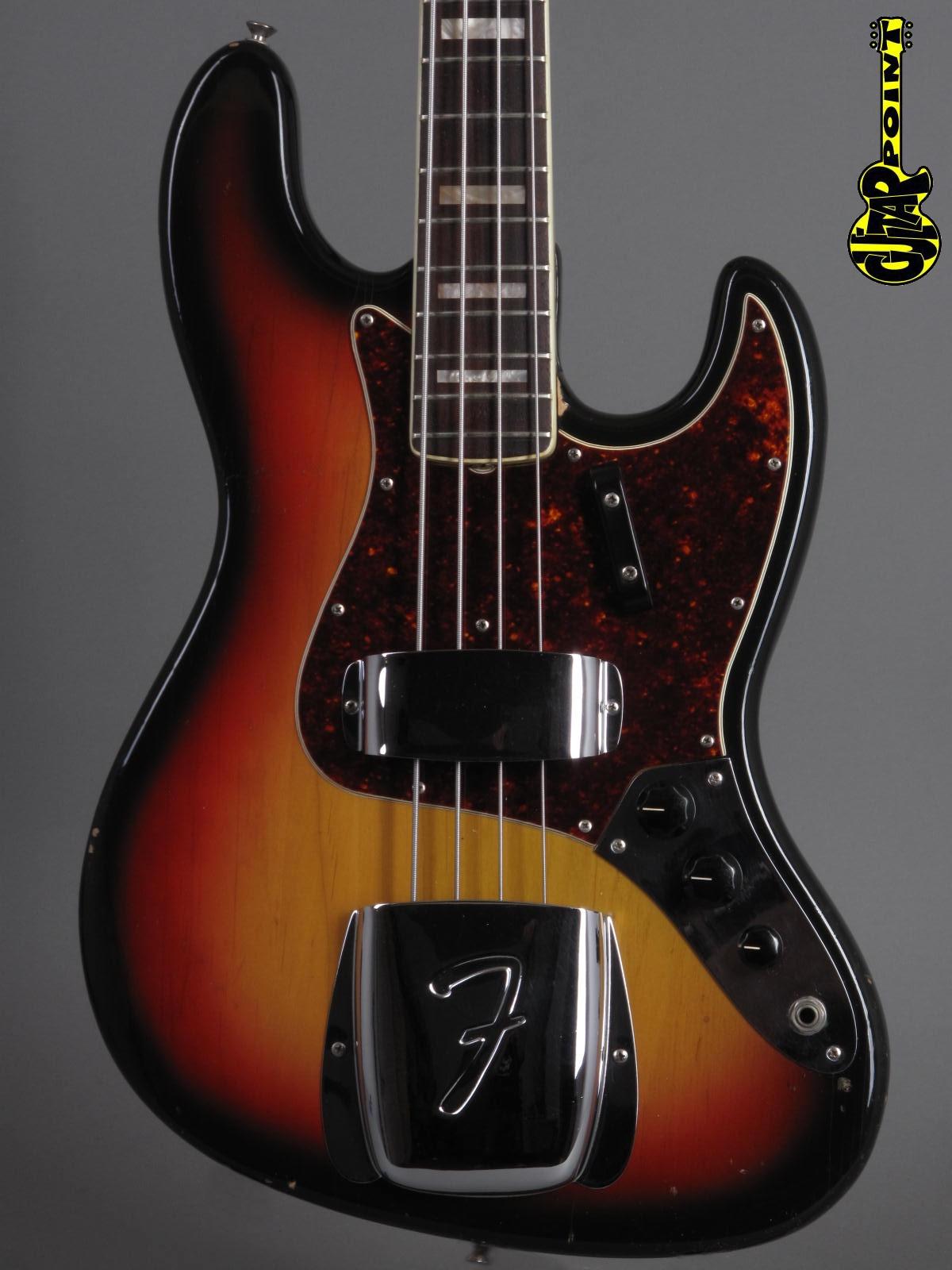 1971 Fender Jazz Bass - 3t-Sunburst