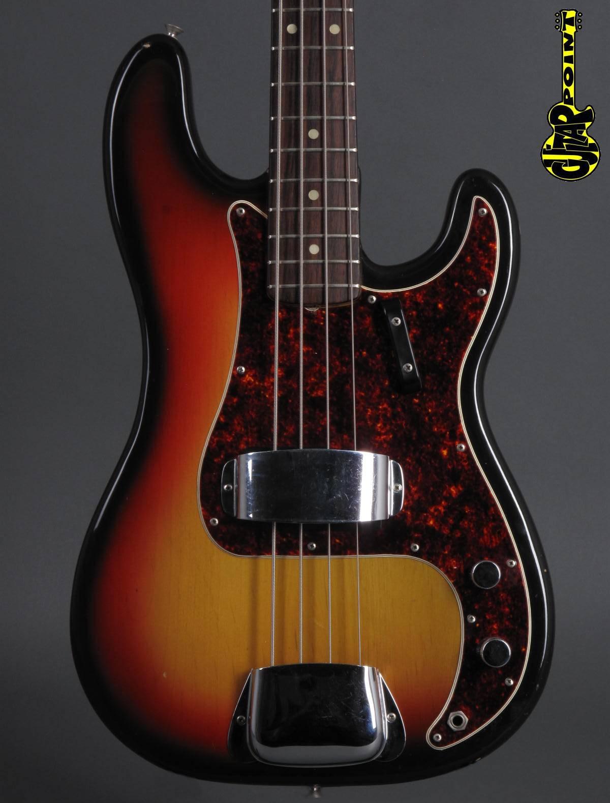 1971 Fender Precision Bass - 3t-Sunburst