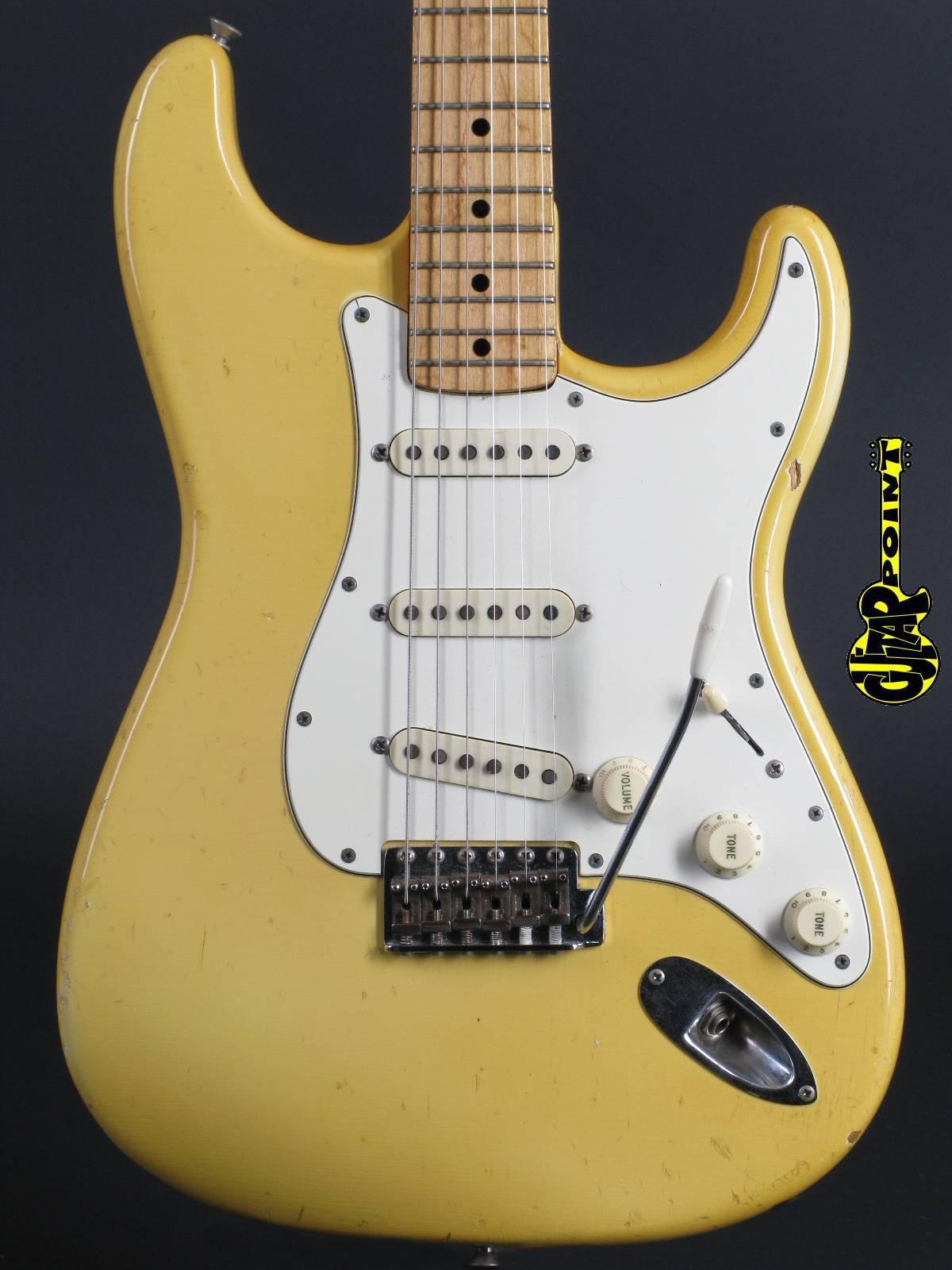 1971 Fender Stratocaster - Olympic White