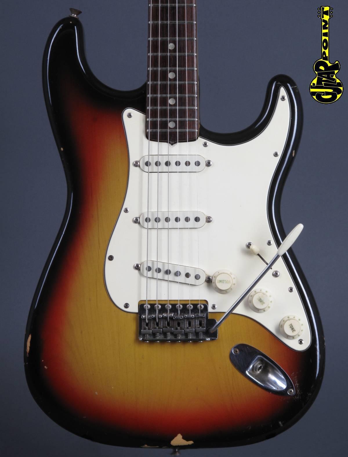 1971 Fender Stratocaster - 3-tone Sunburst - 4-bolt !!!