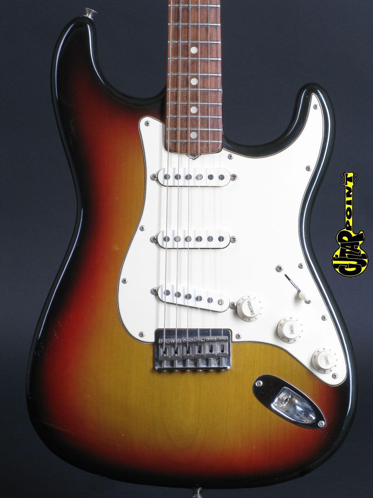1971 Fender Stratocaster Hardtail - 3-tone Sunburst