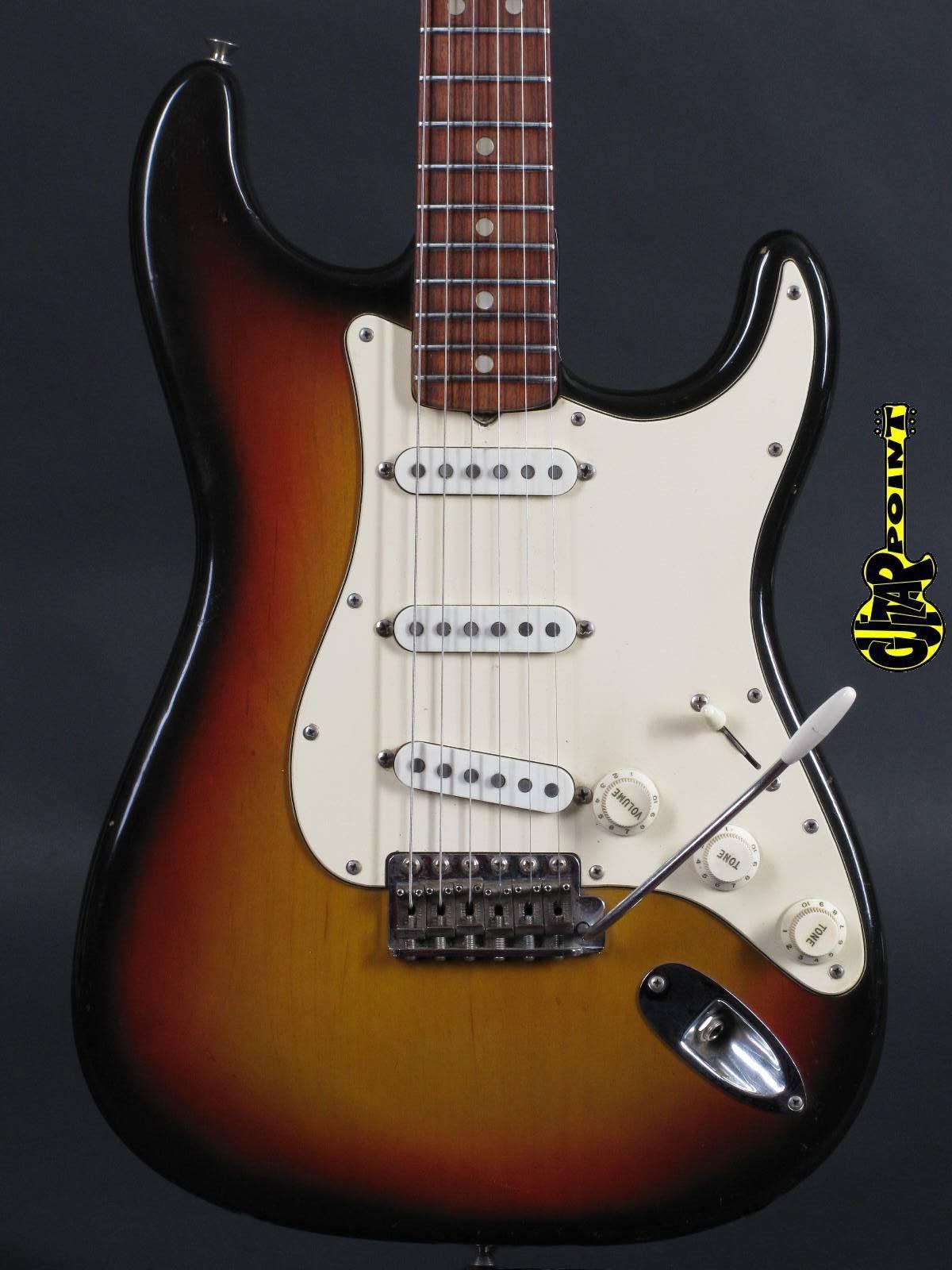 1971 Fender Stratocaster 3-Tone Sunburst