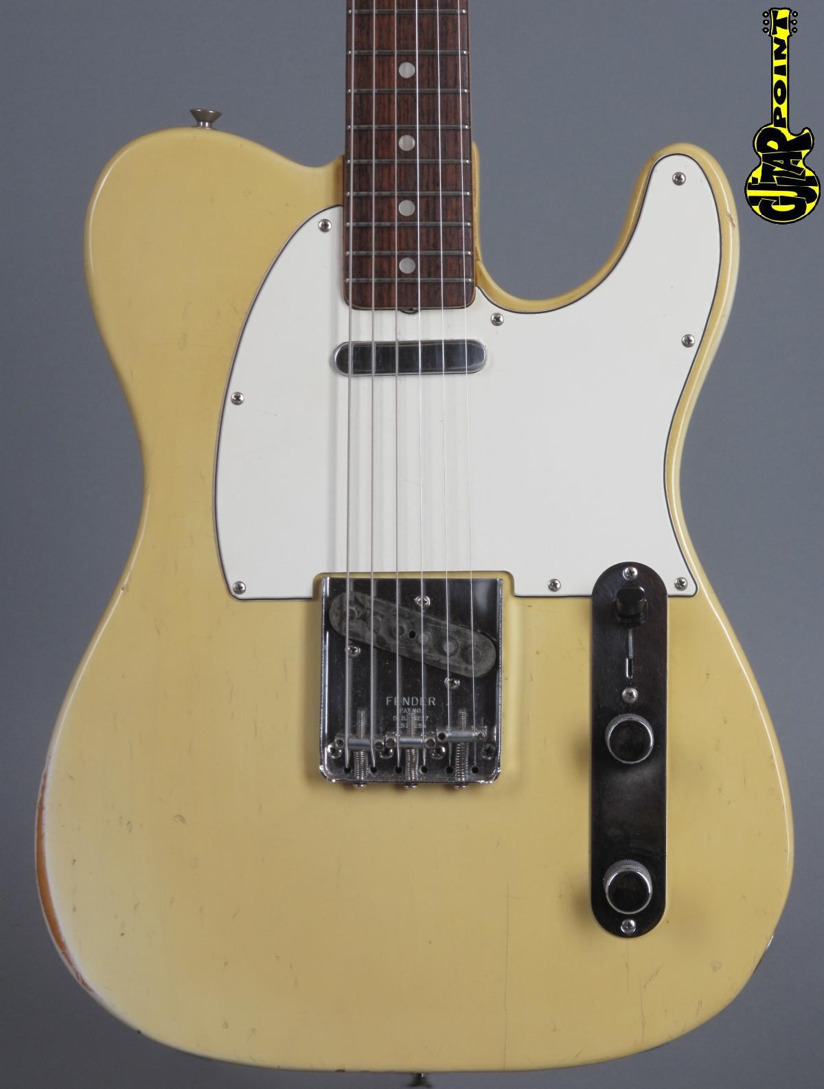1971 Fender Telecaster -  Blond    ...only 3,26 Kg!