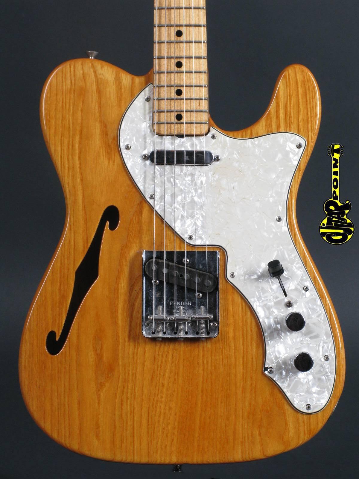 1971 Fender Thinline Telecaster - Natural