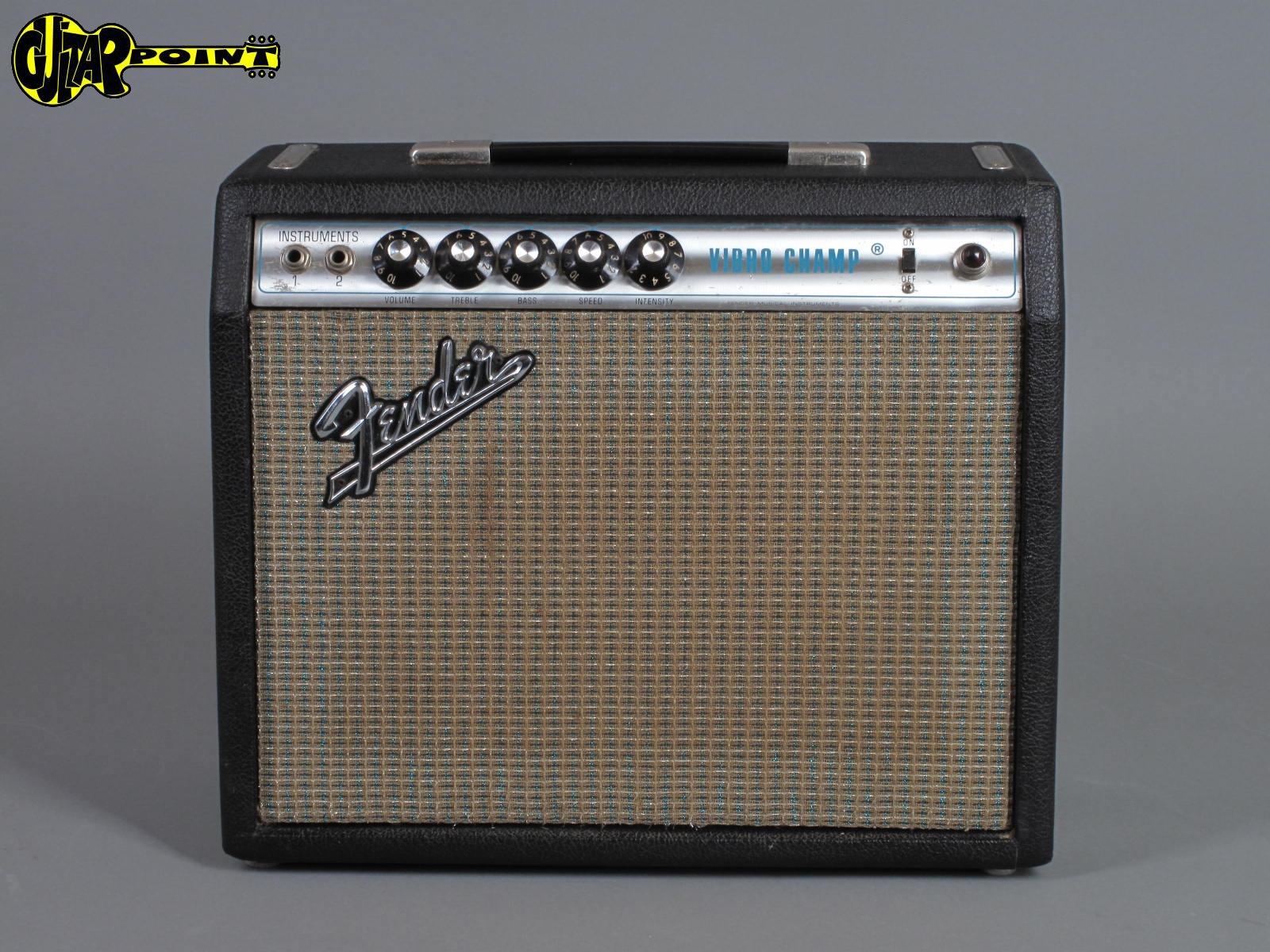 1971 Fender Vibro Champ - Tube-Amp