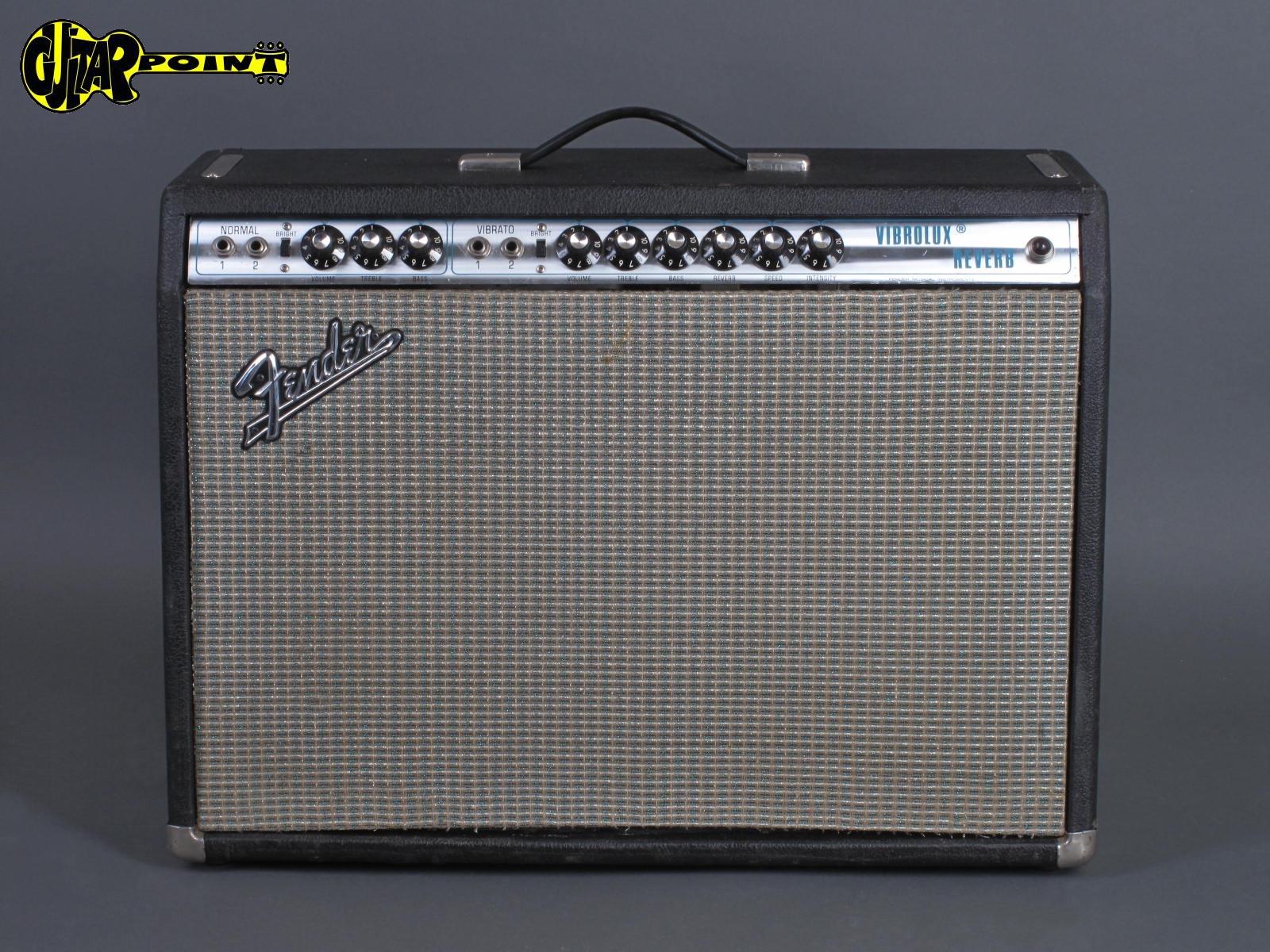 1971 Fender Vibrolux  Reverb Amp  ...Excellent !