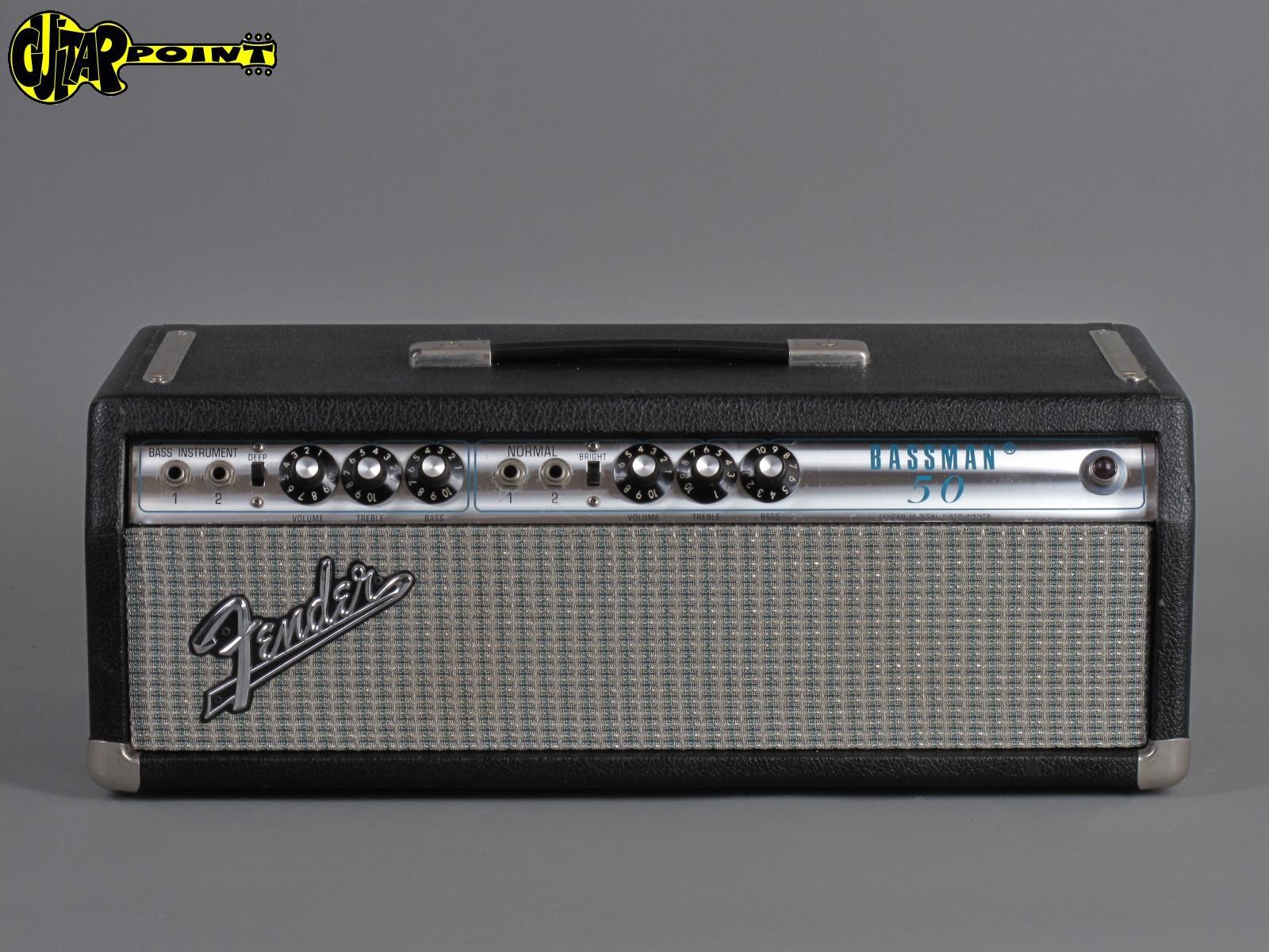 1972 Fender Bassman - 50Watt  Export version !