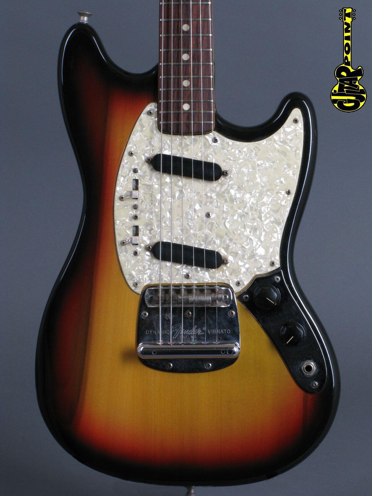 1972 Fender Mustang - 3-t Sunburst incl. orig. Case