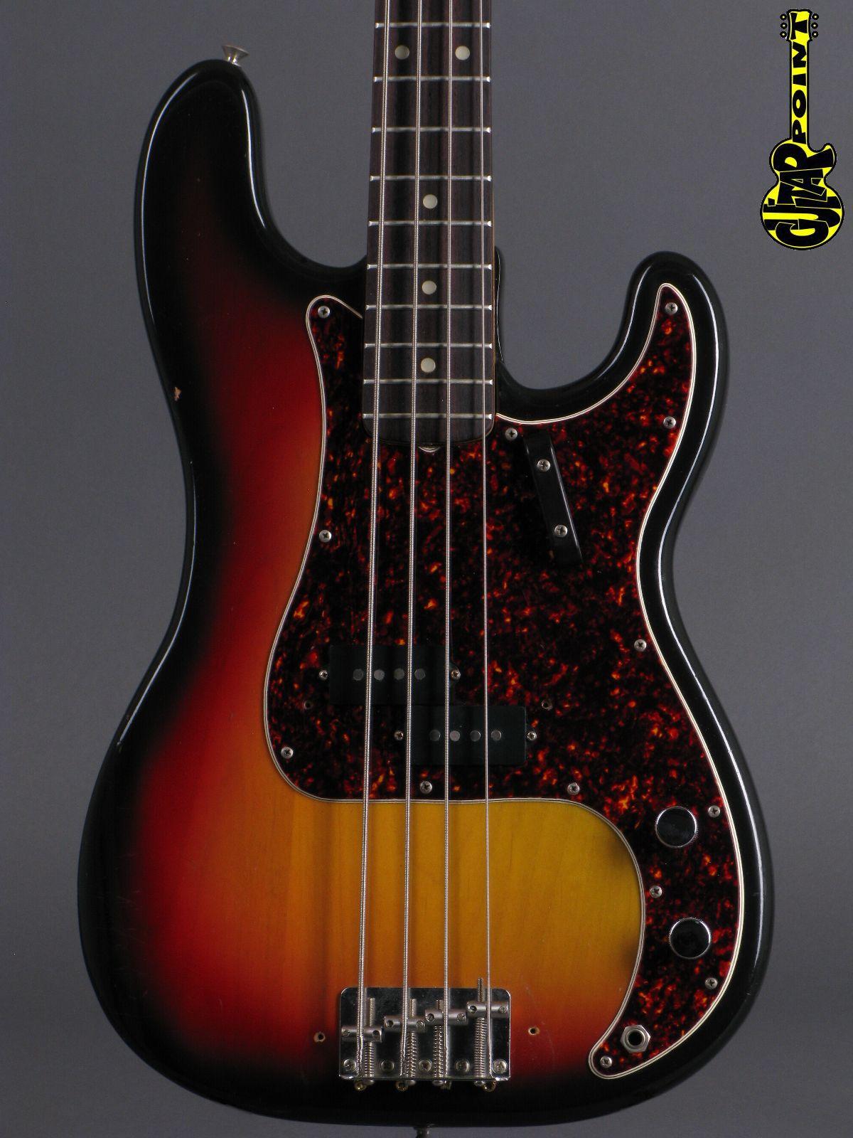 1972 Fender Precision Bass - 3t-Sunburst