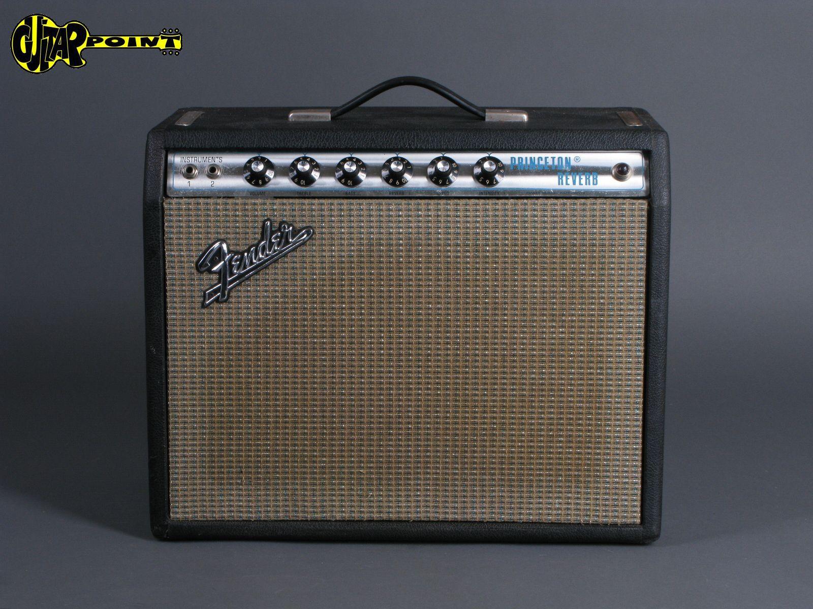 1972 Fender Princeton Reverb Amp