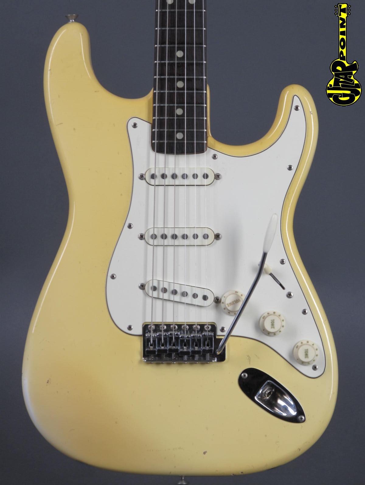 1972 Fender Stratocaster - Olmypic White