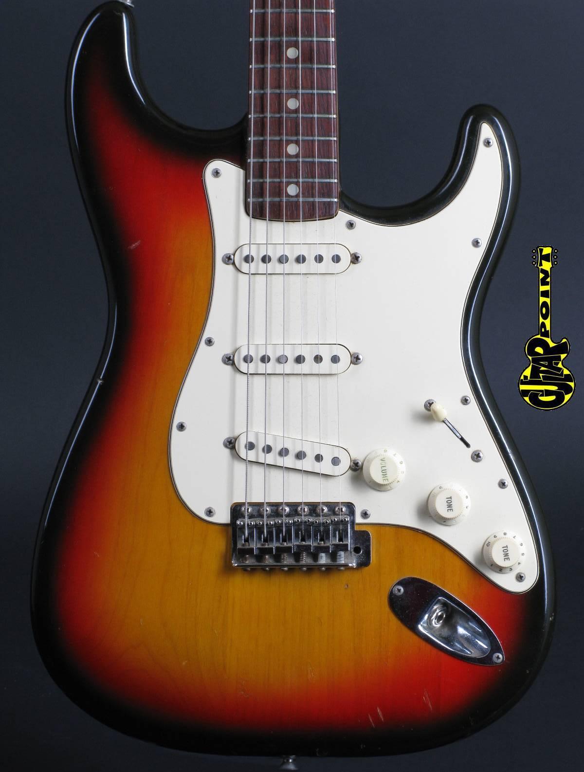 1972 Fender Stratocaster - 3-tone Sunburst