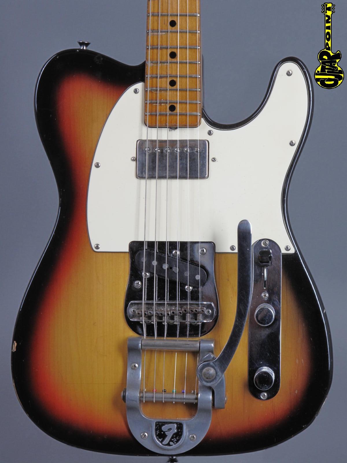 1972 Fender Telecaster - 3-tone Sunburst / Bigsby