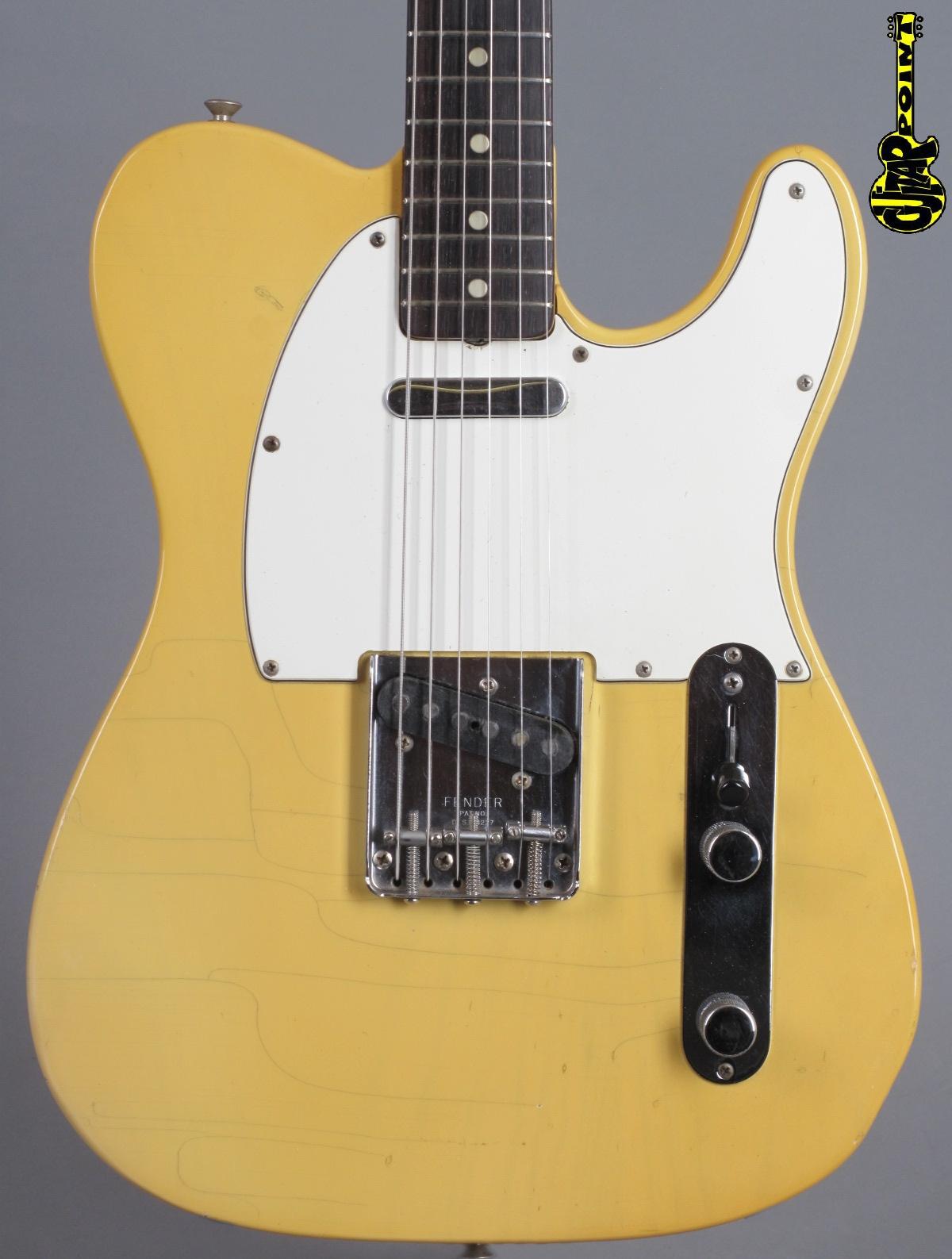 1972 Fender Telecaster - Blond ...Rosewood fretboard !!!