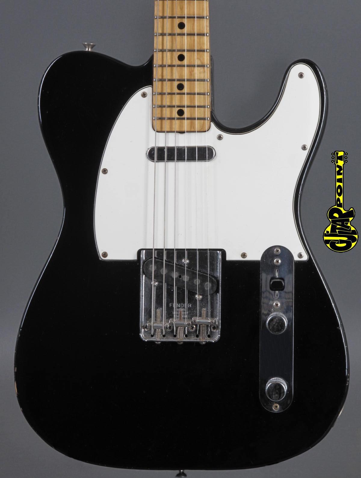 1972 Fender Telecaster -  Black  ...nice custom color !