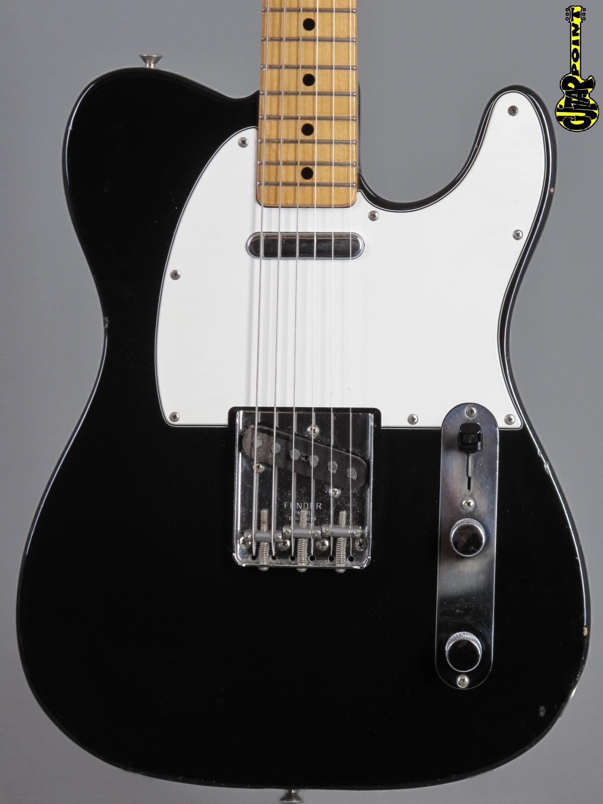 1972 Fender Telecaster - Black