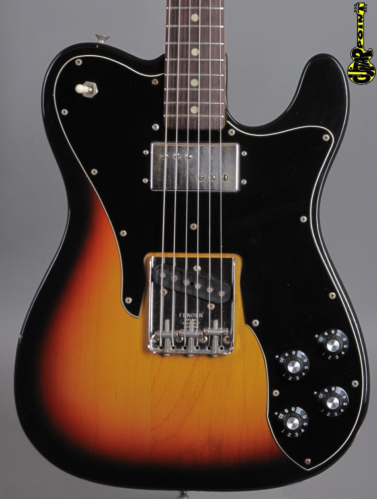 1972 Fender Telecaster Custom -  3-tone Sunburst