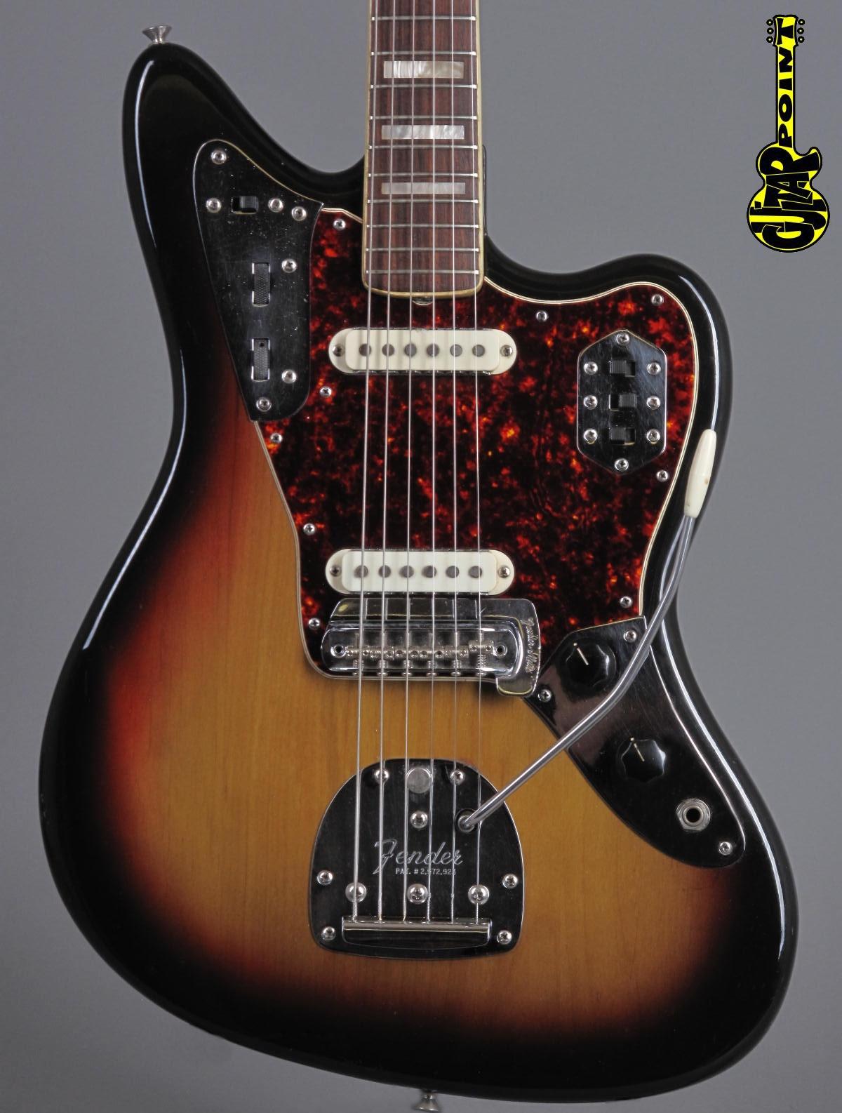 1973 Fender Jaguar – 3-tone Sunburst