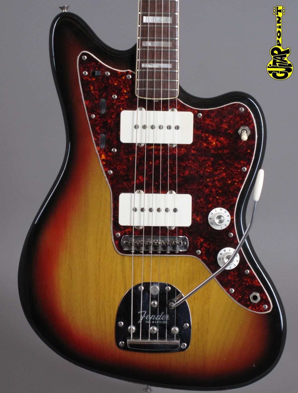 1973 Fender Jazzmaster - 3-tone Sunburst