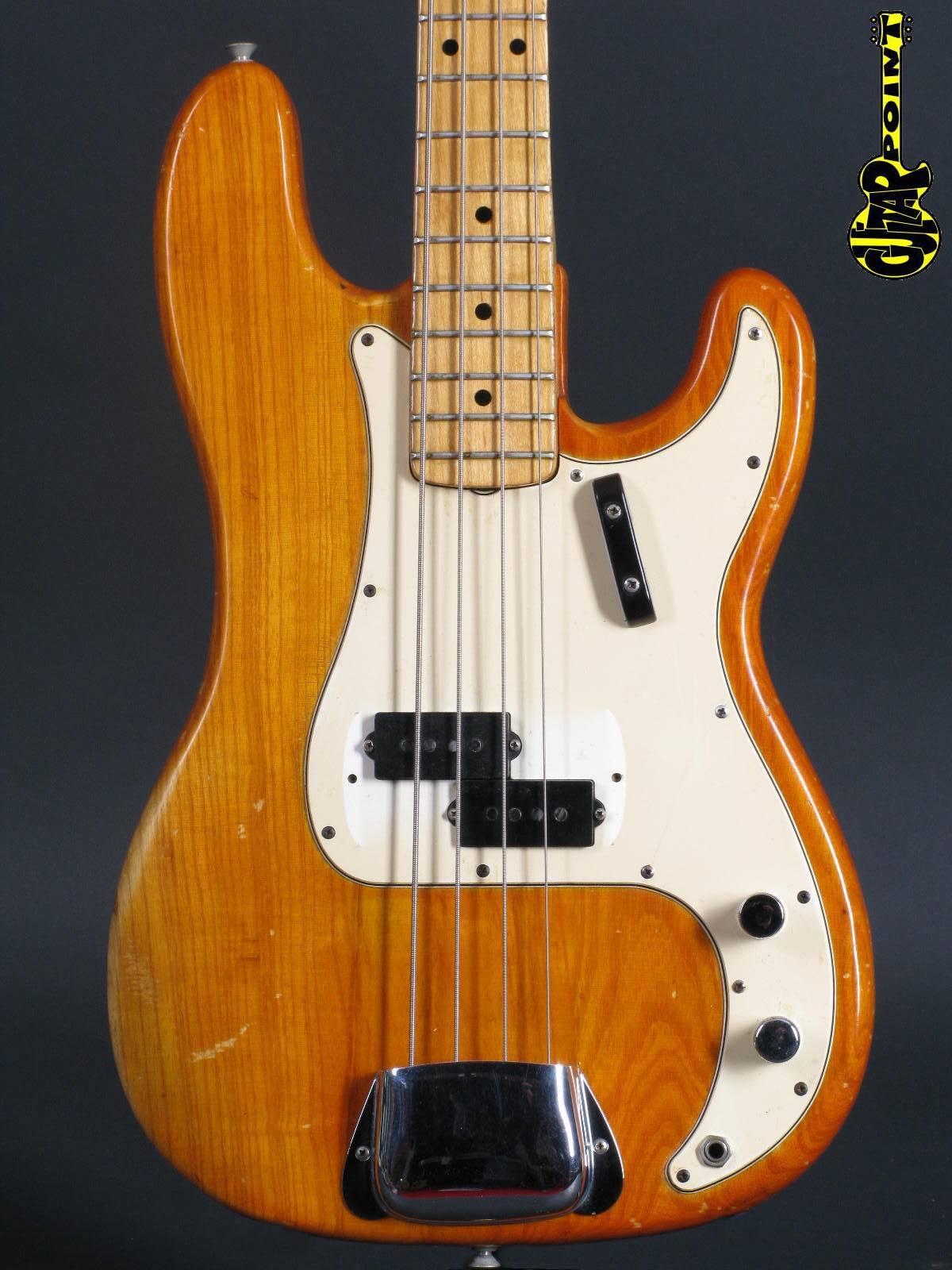 1973 Fender Precision Bass - Natural