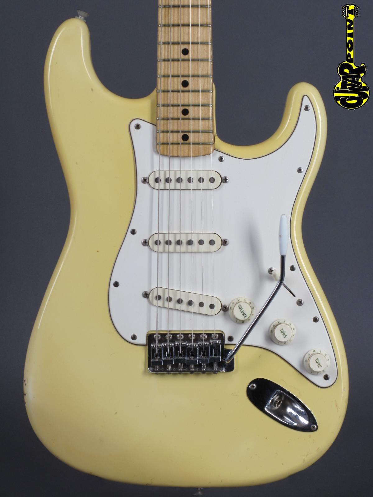 1973 Fender Stratocaster - Olympic White